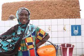 Wasserversorgung durch Islamic Relief in Niger